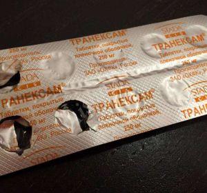 Транексам – инструкция по применению таблеток и раствора в ампулах, показания, состав, дозировка и аналоги