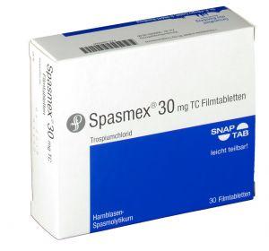Спазмекс – инструкция по применению таблеток, состав, показания, побочные эффекты, аналоги и цена