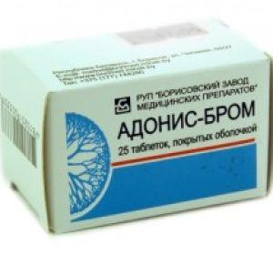 Адонис Бром – инструкция по применению, состав, дозировка и противопоказания