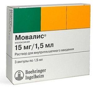 Мовалис – обзор препарата, показания и способы применения