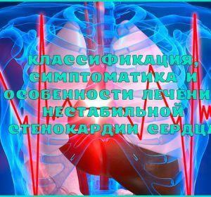 Нестабильная стенокардия — классификация по Браунвальду, диагностика и терапия