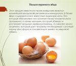 Куриные яйца помогут предотвратить инсульт