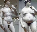 Причины ожирения у мужчин — стресс, питание, вредные привычки