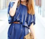 Советы подбора макияжа для синего платья