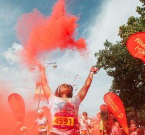 В Москве пойдет Красочный забег