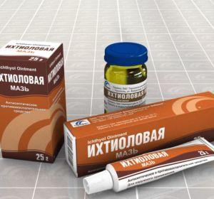 Ихтиоловая мазь — лечебные свойства и инструкция по применению для лечения заболеваний