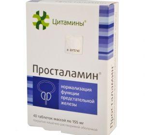 Просталамин для предстательной железы: действие и применение