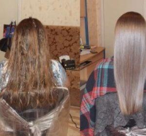 Эффективное экранирование волос в салоне и дома с помощью средств от Эстель