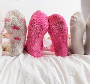 Сон в носках полезен для здоровья