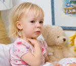 Сухой кашель у ребенка без температуры — лечение