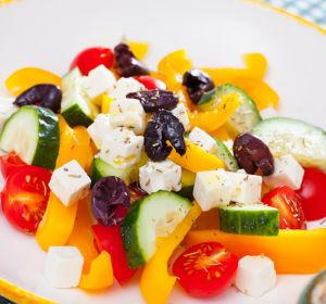 Средиземноморская диета защитит от старческой депрессии