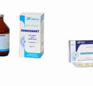 Лефлобакт – инструкция по применению и противопоказания, побочные эффекты, механизм действия и аналоги