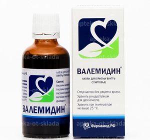 Валемидин – инструкция по применению препарата