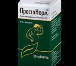 Простанорм при простатите — форма выпуска, действующее вещество и дозировка