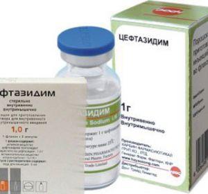 Цефтазидим – инструкция по применению и отзывы