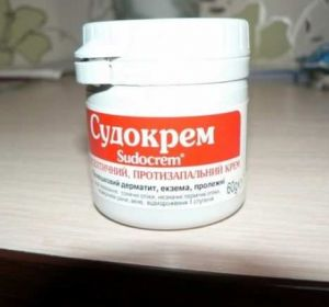 Судокрем – инструкция по применению, побочные эффекты и цена