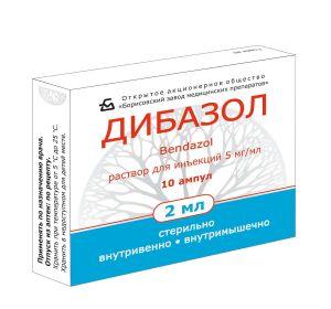 Дибазол – инструкция по применению препарата