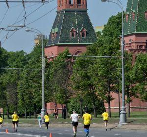 В Москве прошел самый массовый полумарафон