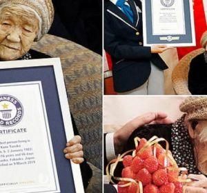 Японка официально признана самой старой женщиной вмире