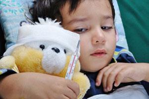 Темпетарура у ребенка