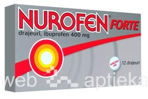 Nurofen - используется от боли в спине.