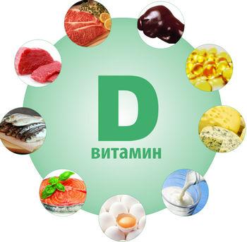 Продукты с содержанием витамина Д