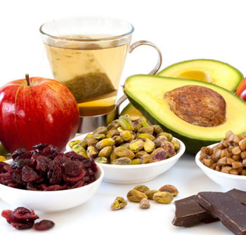 Продукты с содержанием витамина E