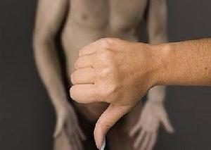 Палец вниз