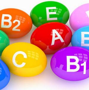 Цветные капсулы с витаминами
