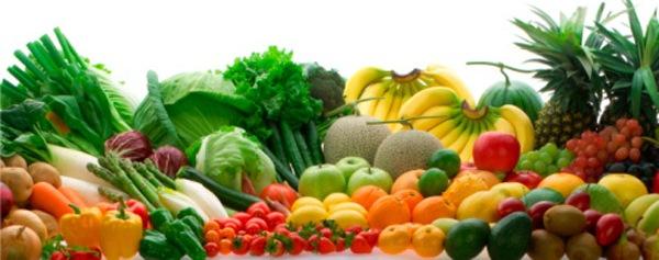 Ассортимент овощей
