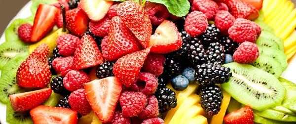 Ассортимент фруктов