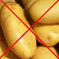 Запрет картофеля