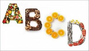 Буквы из продуктов