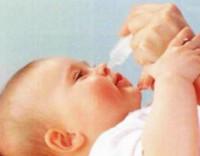 Детские капли для носа