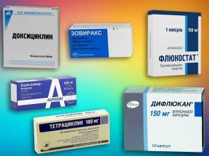 Препараты для лечения эндоцервицита
