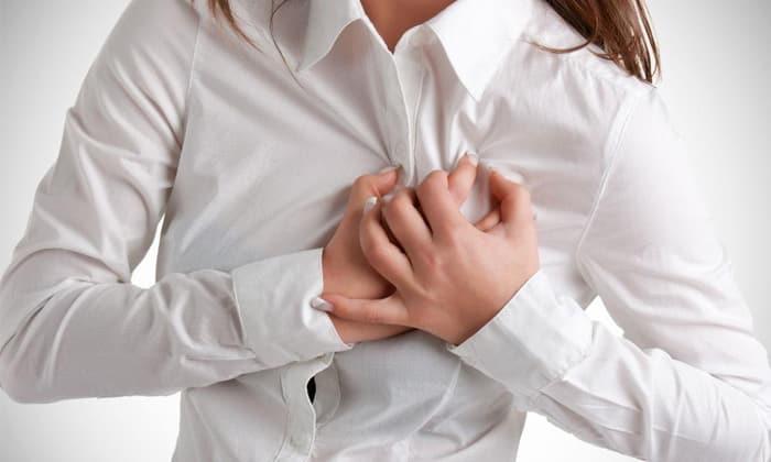Побочным эффектом от приёма препарата может быть тахикардия