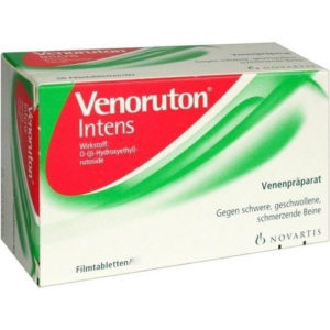 Доказательная база эффективности Венорутона