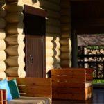 Домик с баней в эко-отеле «Лепота» в Подмосковье