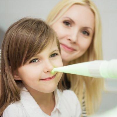Физиотерапия при ОРВИ у детей
