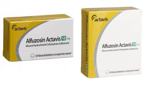 Международное непатентованное название препарата Алфуфозин