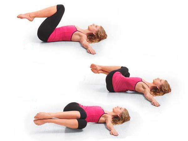 Упражнение - поза зародыша
