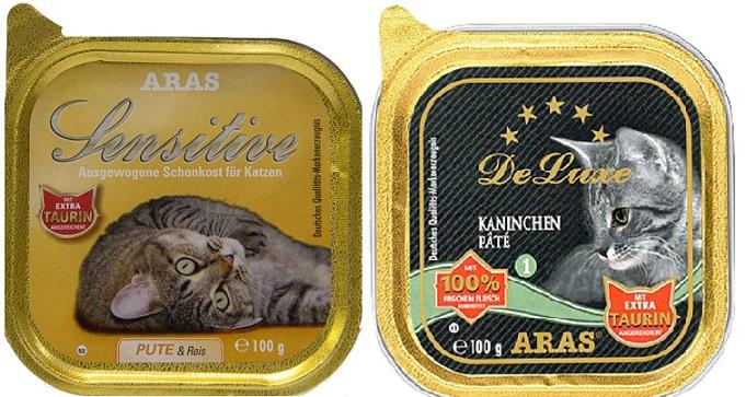 корм арас для кошек отзывы