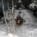 Ночевка в зимнем лесу. Секреты выживания от опытного туриста.