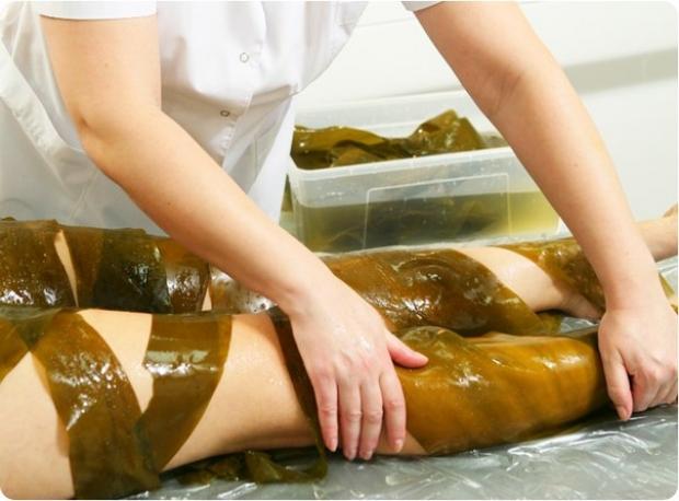 обертывания с морскими водорослями