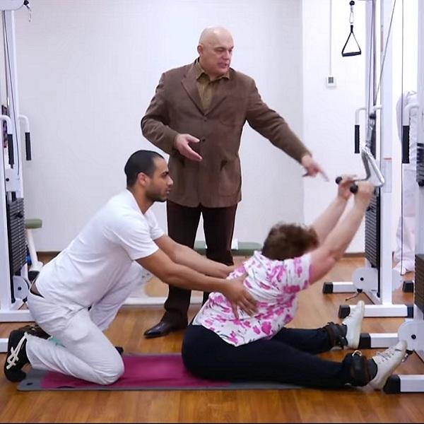 Лечебное упражнение для грудного отдела позвоночника | Грудной отдел позвоночника, лечение заболеваний