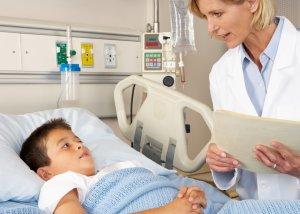 Детей с синдромом Стивенса-Джонсона лечат в условиях стационара