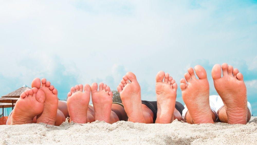 Причины появления грибка на ногах