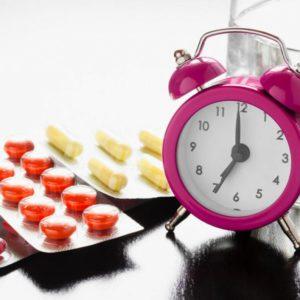 Прием таблеток длительное время
