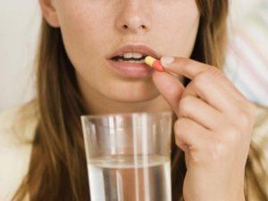 Принимать лекарство желательно после еды