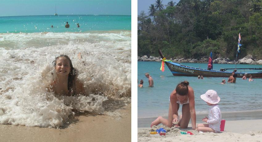 в Таиланде с детьми лучше отдыхать на островах